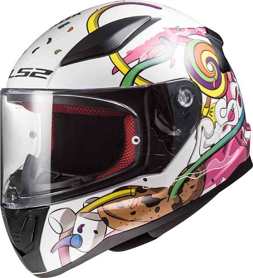 Capacete Integral LS2 FF353 MINI Crazy Pop